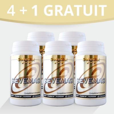 Gevemag 4+1 gratuit